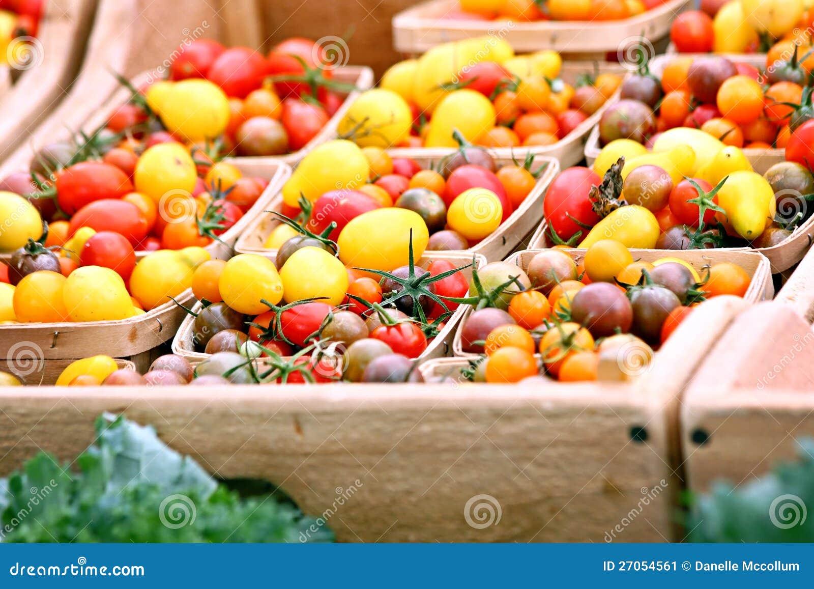 Tomates-cerises d héritage