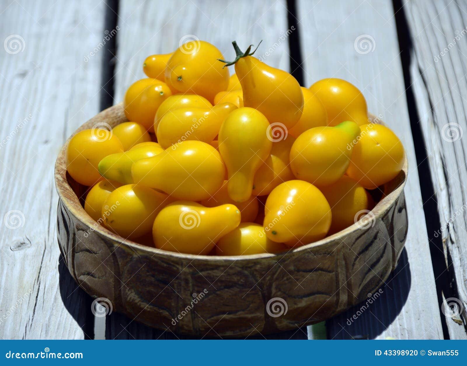 Tomates-cerises jaunes