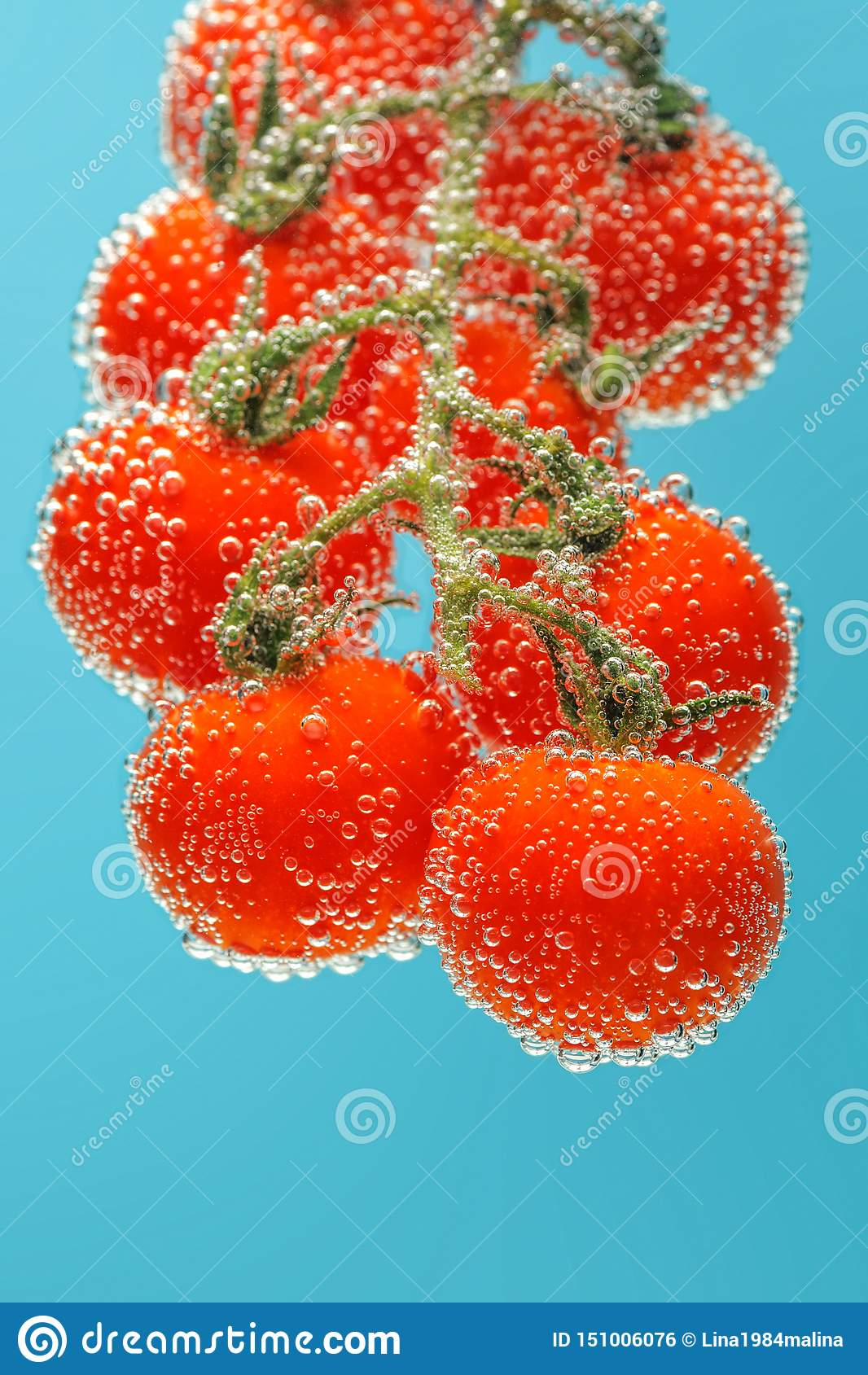 Tomates-cerises rouges m?res