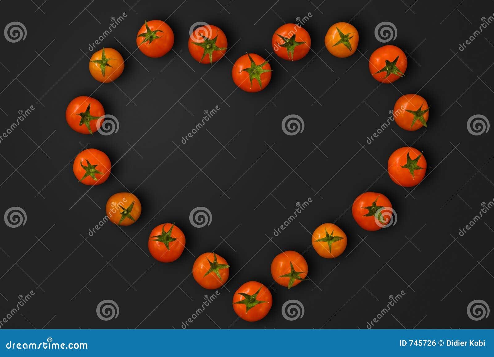 Tomates en forme de coeur