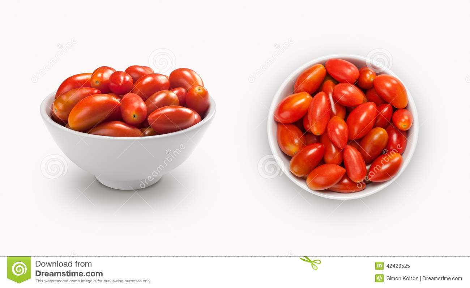 Tomates verdes olivas