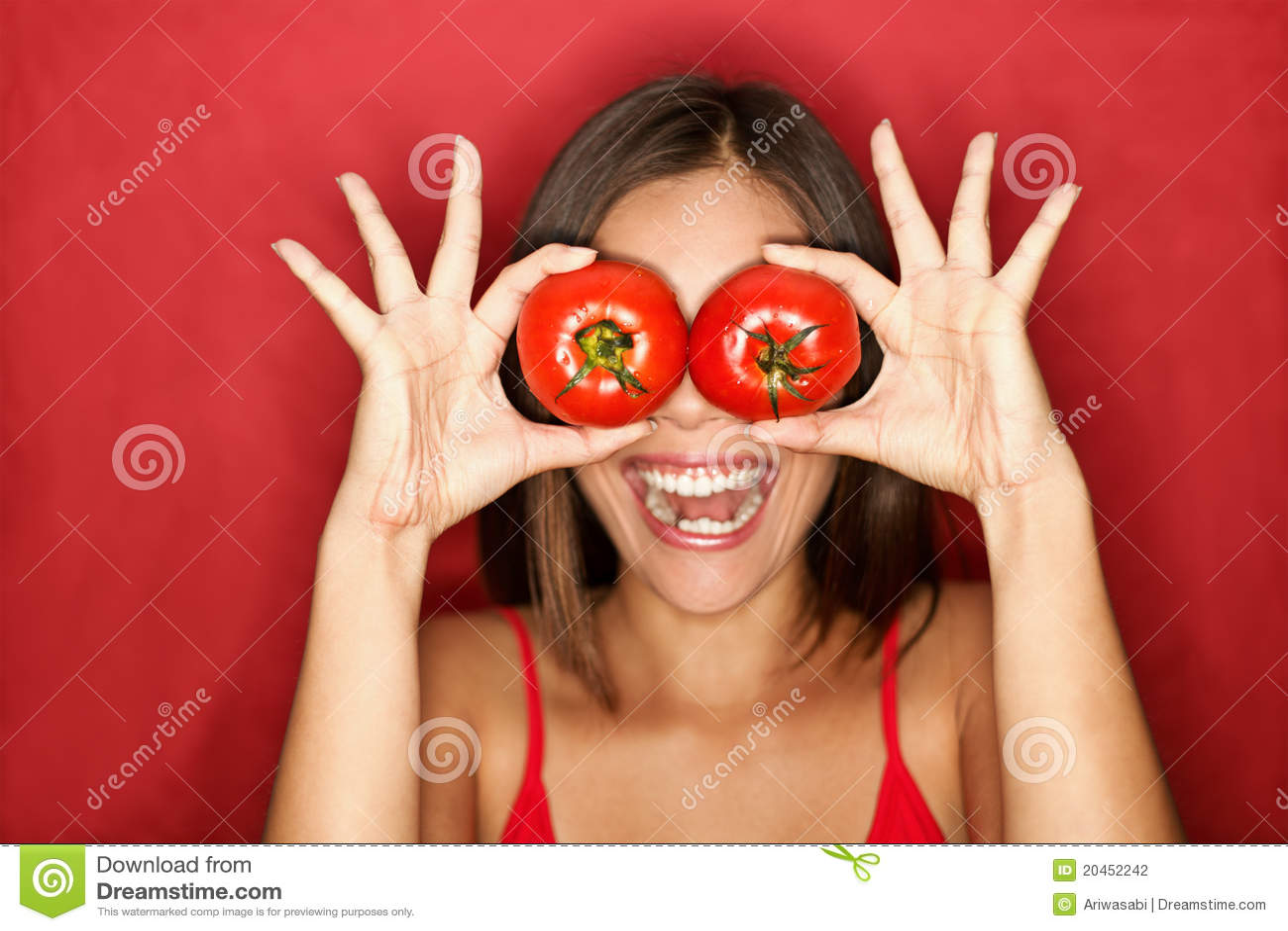 Tomatkvinna