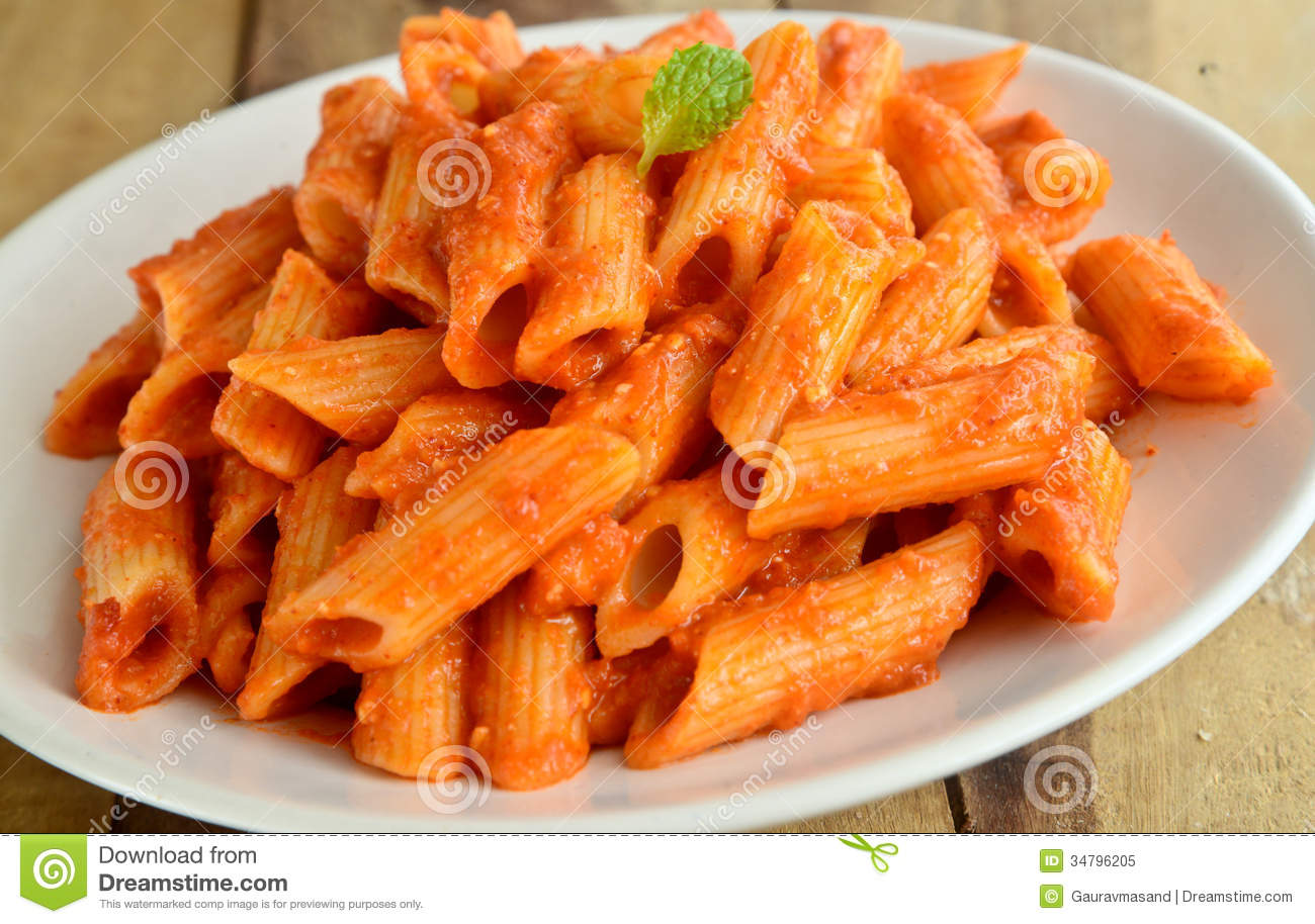 Tomato Cheese pasta made from Penne pasta and tomato,cheese.