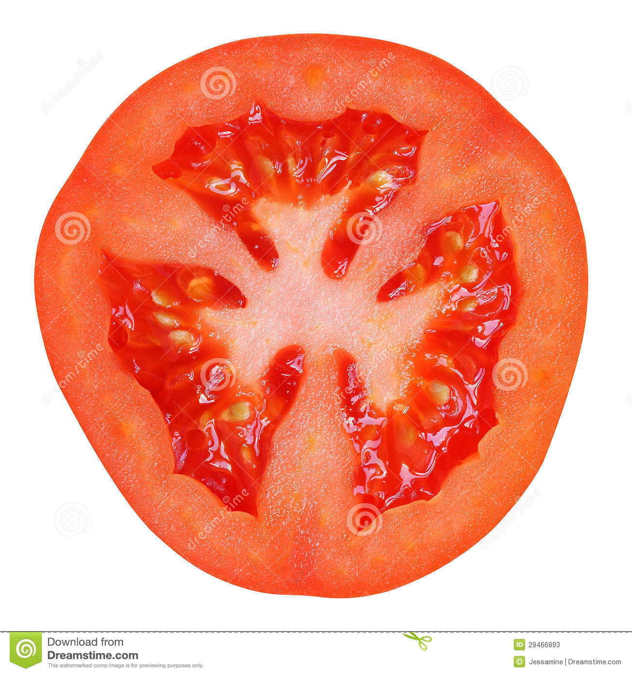 tomato slice stock image image of food half vegetarian 29466893