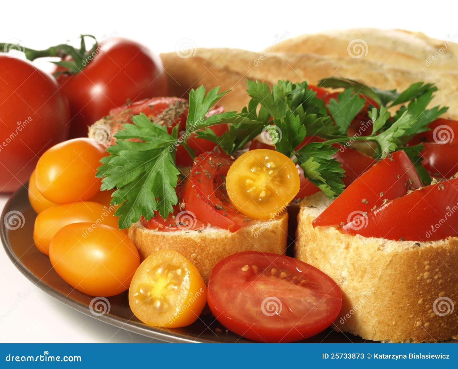 Tomato snack