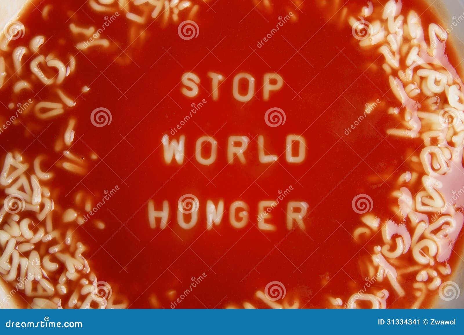 stop world hunger essay