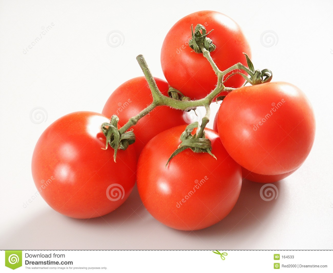 Tomatoes with branch