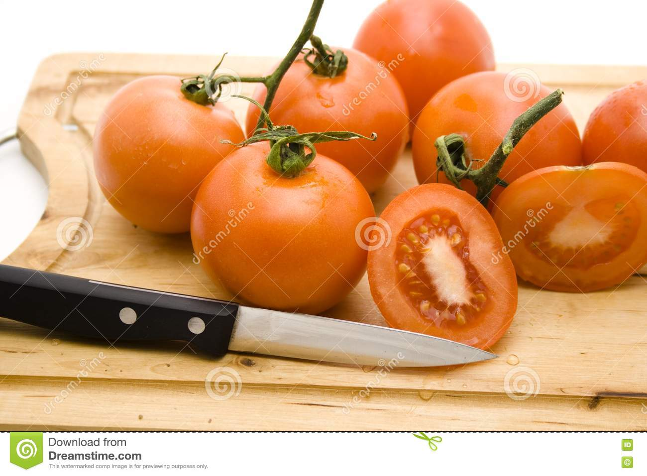 how to cut tomatoes cubes