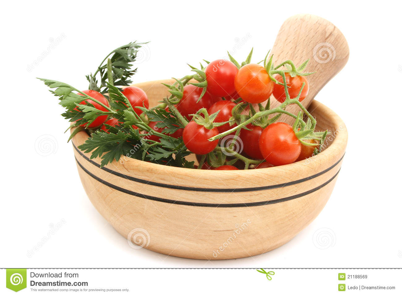 Tomatoes in dish