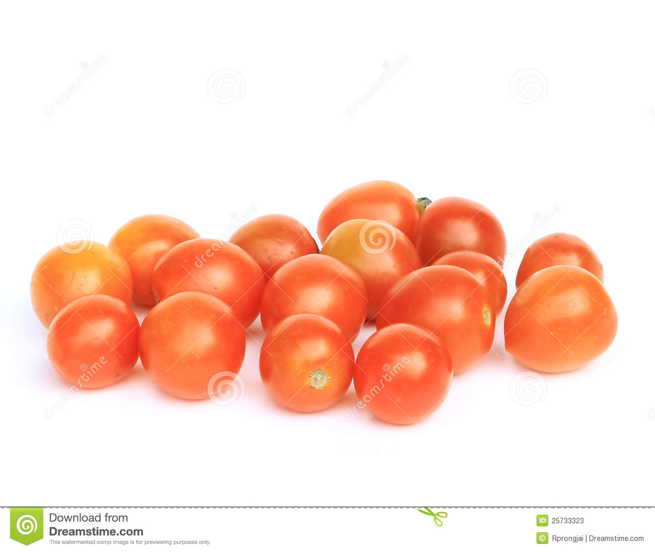 Tomatoes isolate