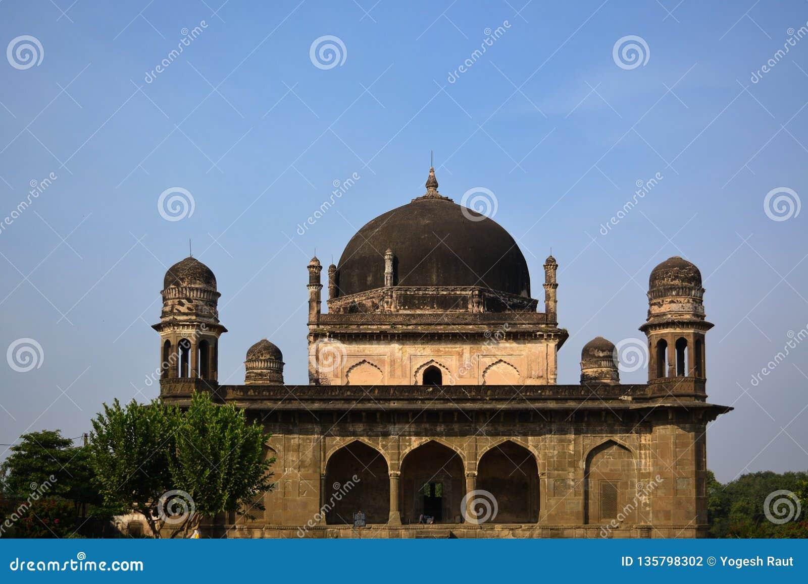 Black Taj Mahal in Burhanpur, Madhya Pradesh, India