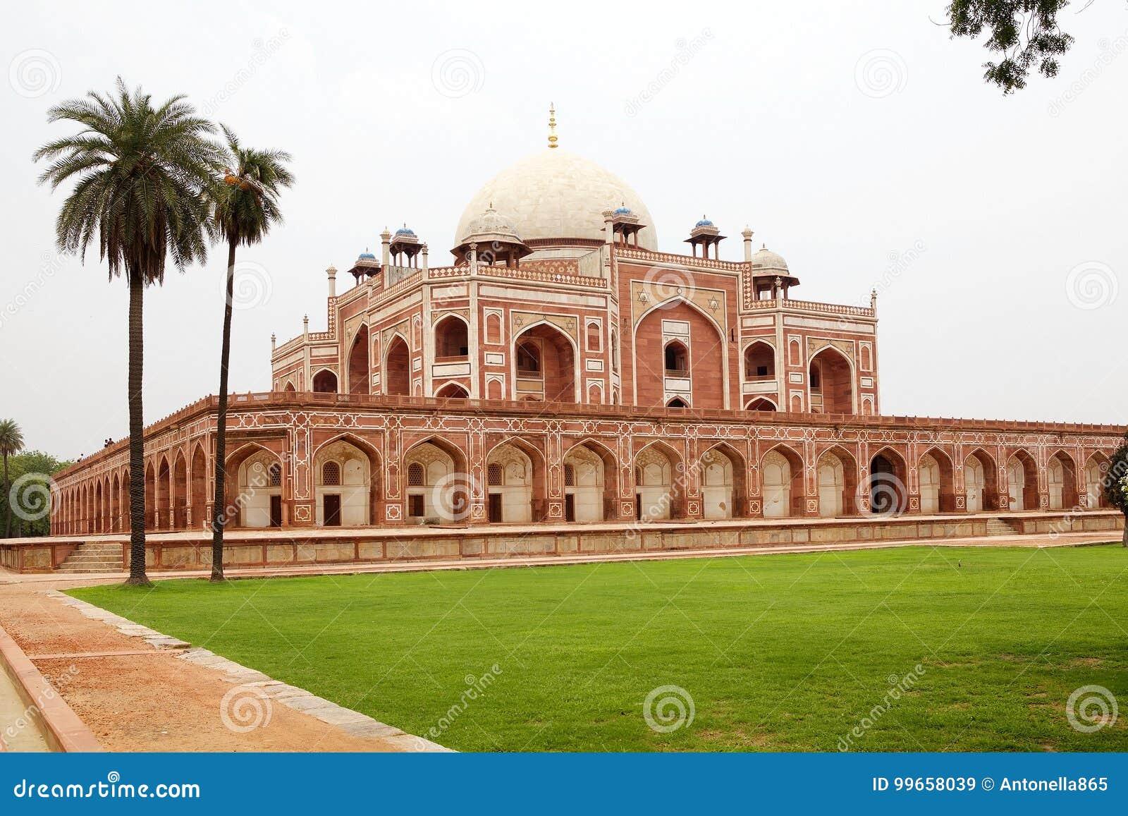 Tomba del ` s di Humayun, Delhi, India