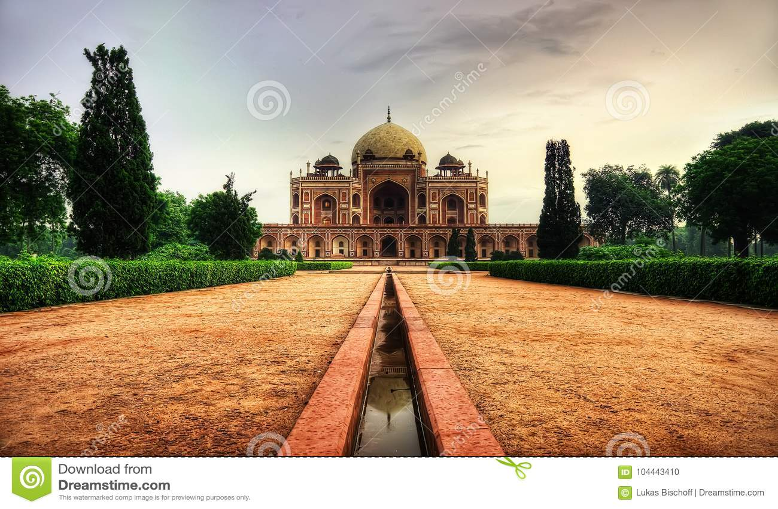 Tomba Delhi del ` s di Humayun