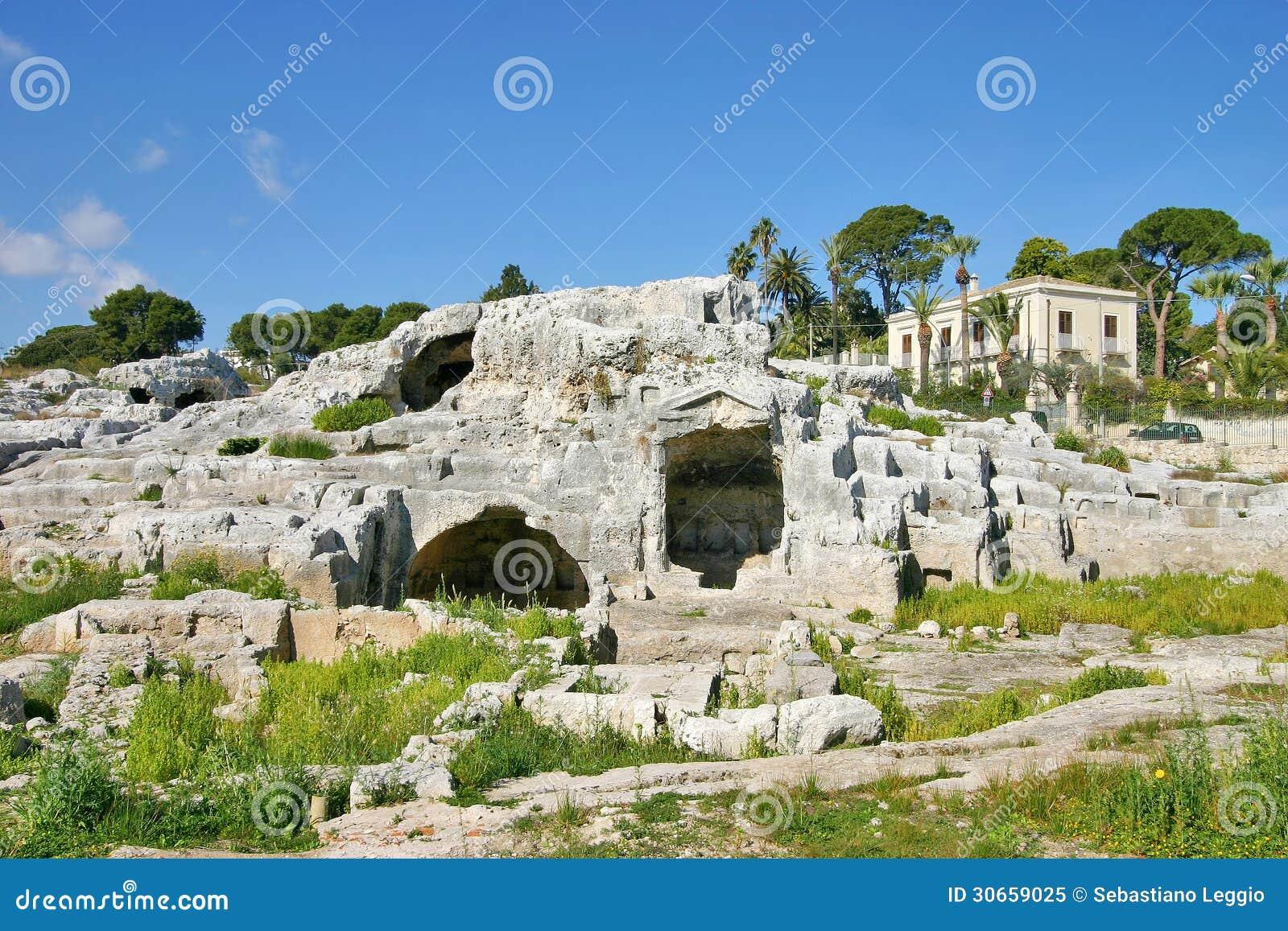 Tomba di Archimede a Siracusa