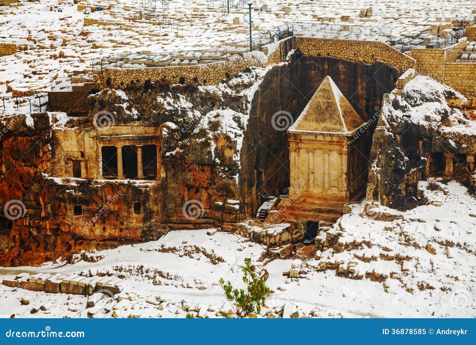 Tombe de Zechariah à Jérusalem