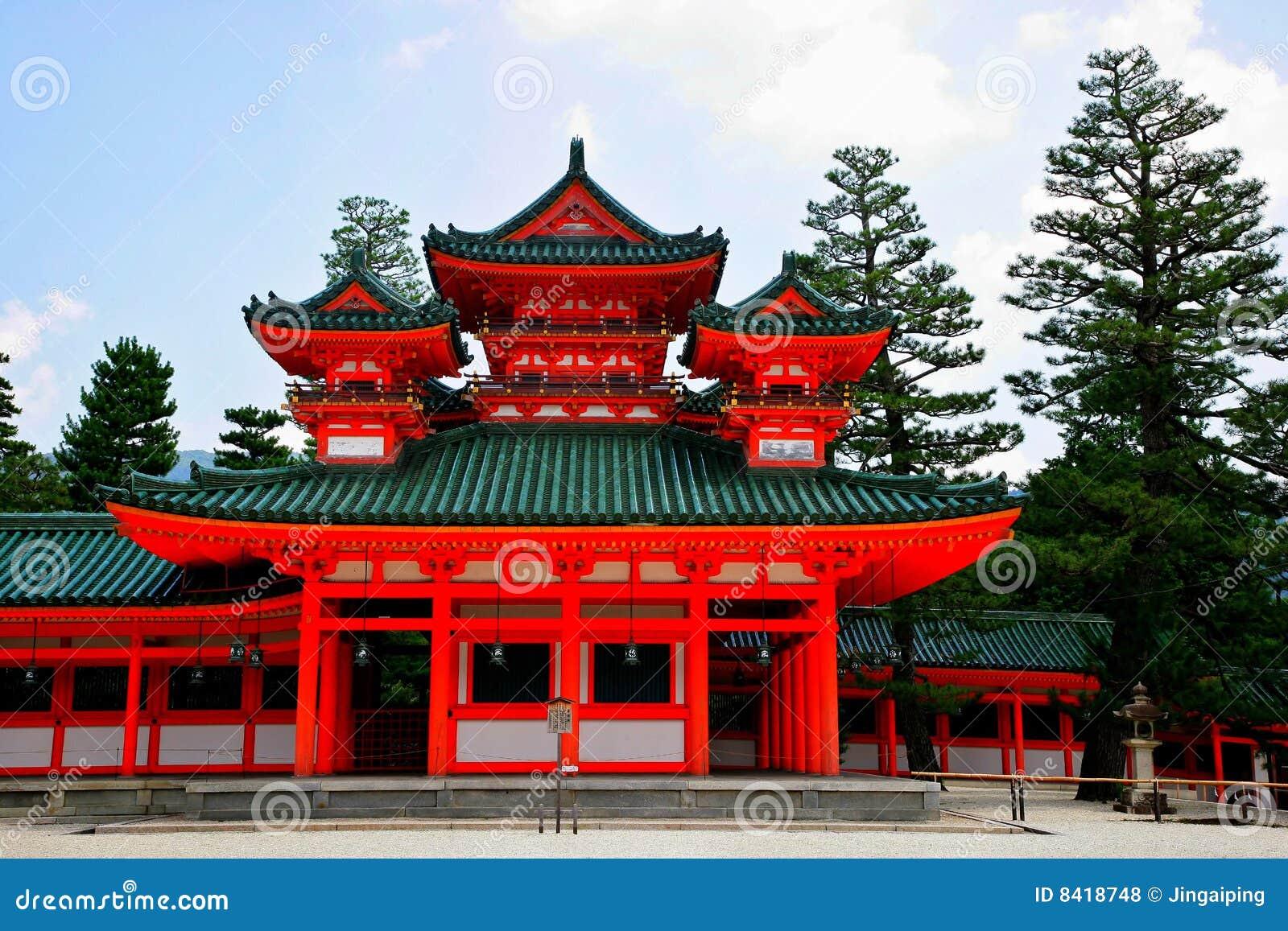 Tombeau de Heian du Japon