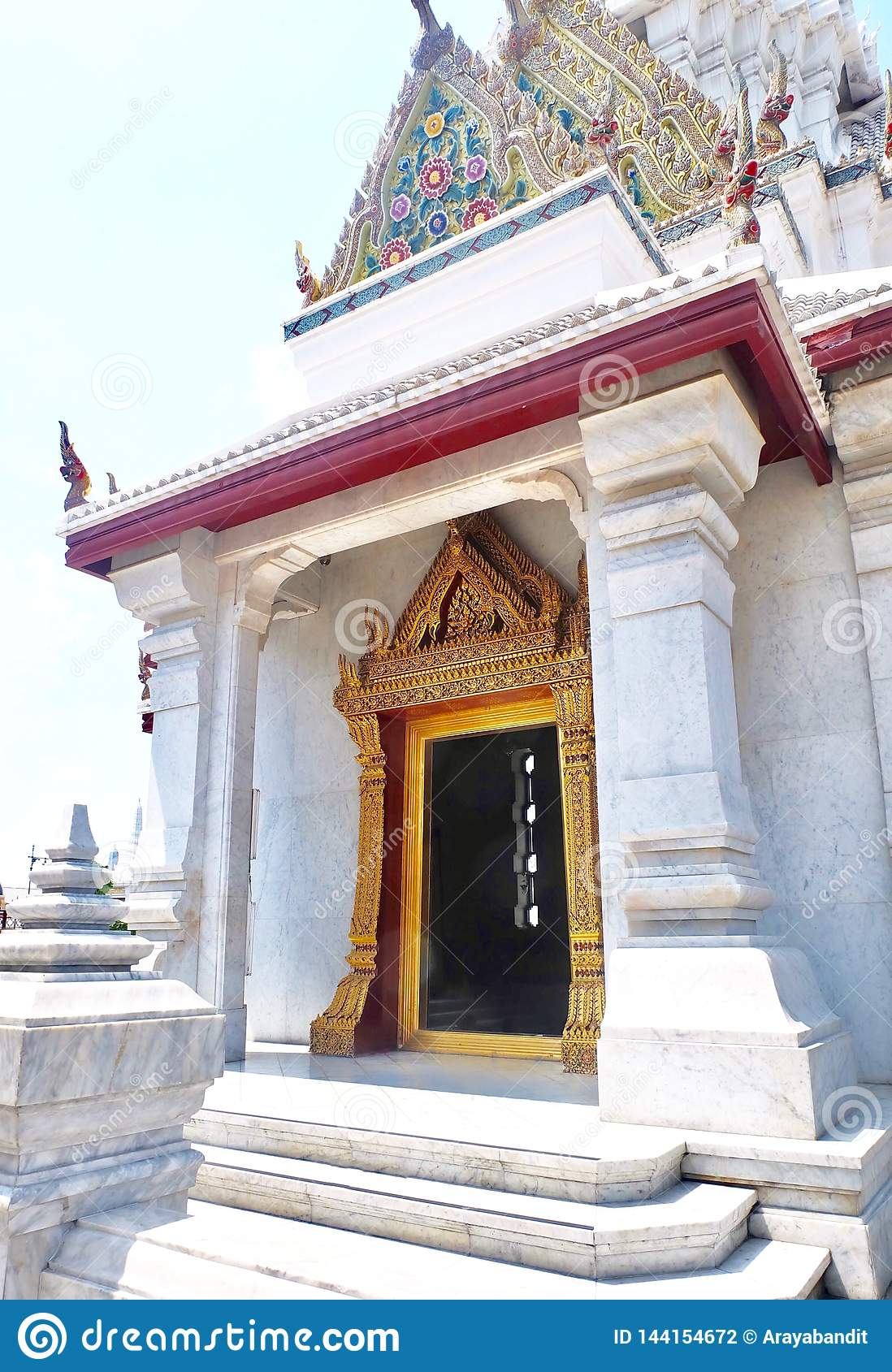 Tombeau de pilier de ville de Bangkok à Bangkok, Thaïlande