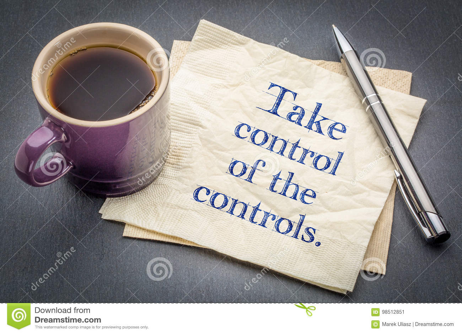 Tome o controle dos controles
