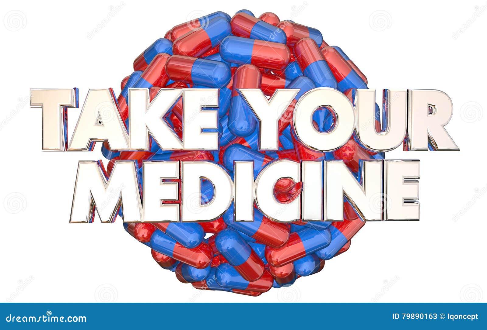 Tome seus doutores Ordem Prescrição Comprimido da medicina