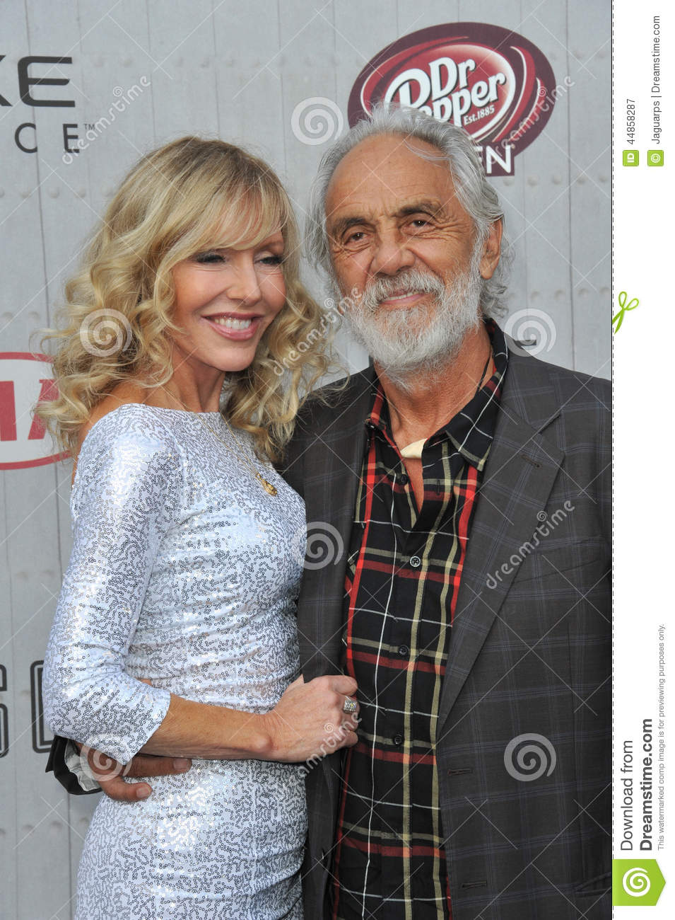 Tommy Chong y Shelby Chong