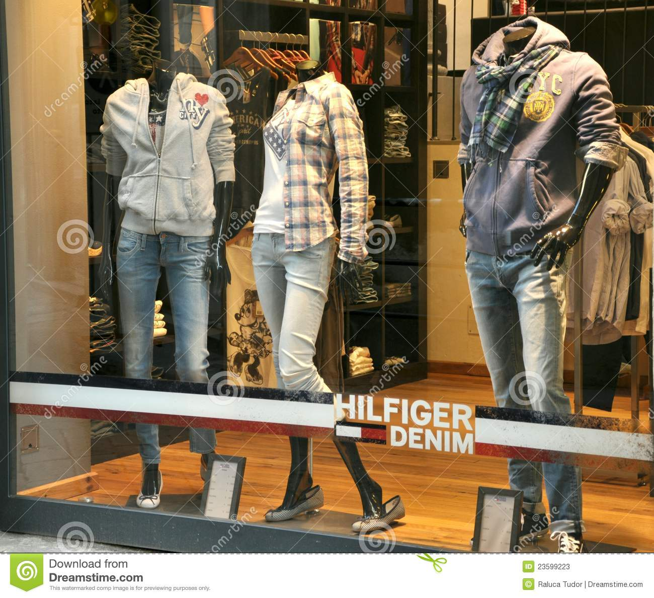 101d32cbcd7830 Tommy Hilfiger Luxury Fashion Shop Editorial Stock Photo - Image of ...