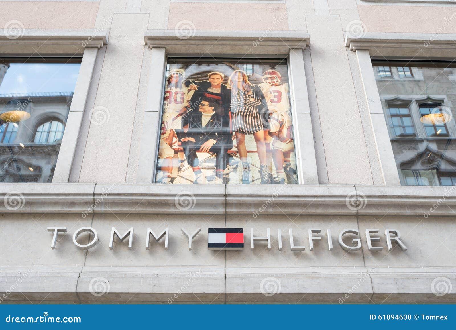 Tommy Hilfiger Monaco Di Baviera Fotografia Stock Editoriale