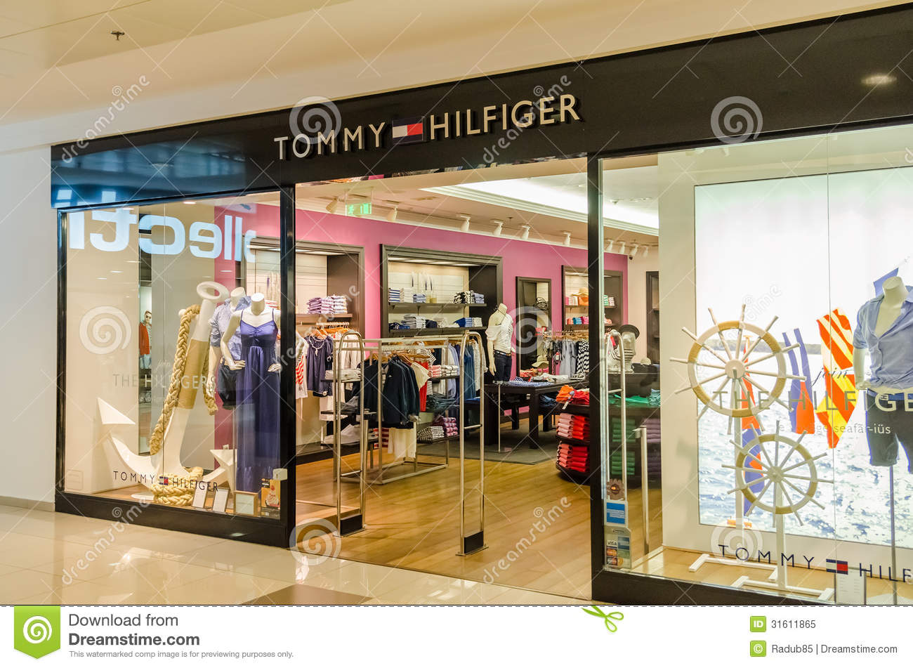 Tommy Hilfiger Store editorial image. Image of luxury - 31611865 7a1910701d9