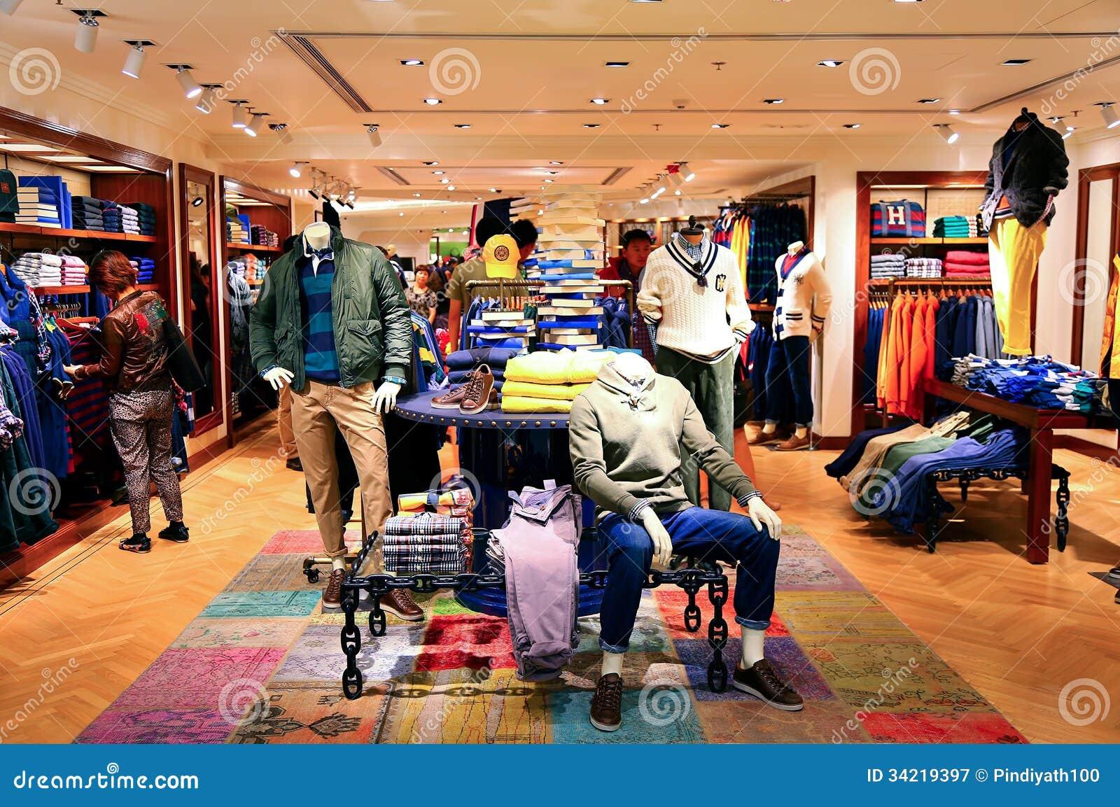 Hong kong clothing stores