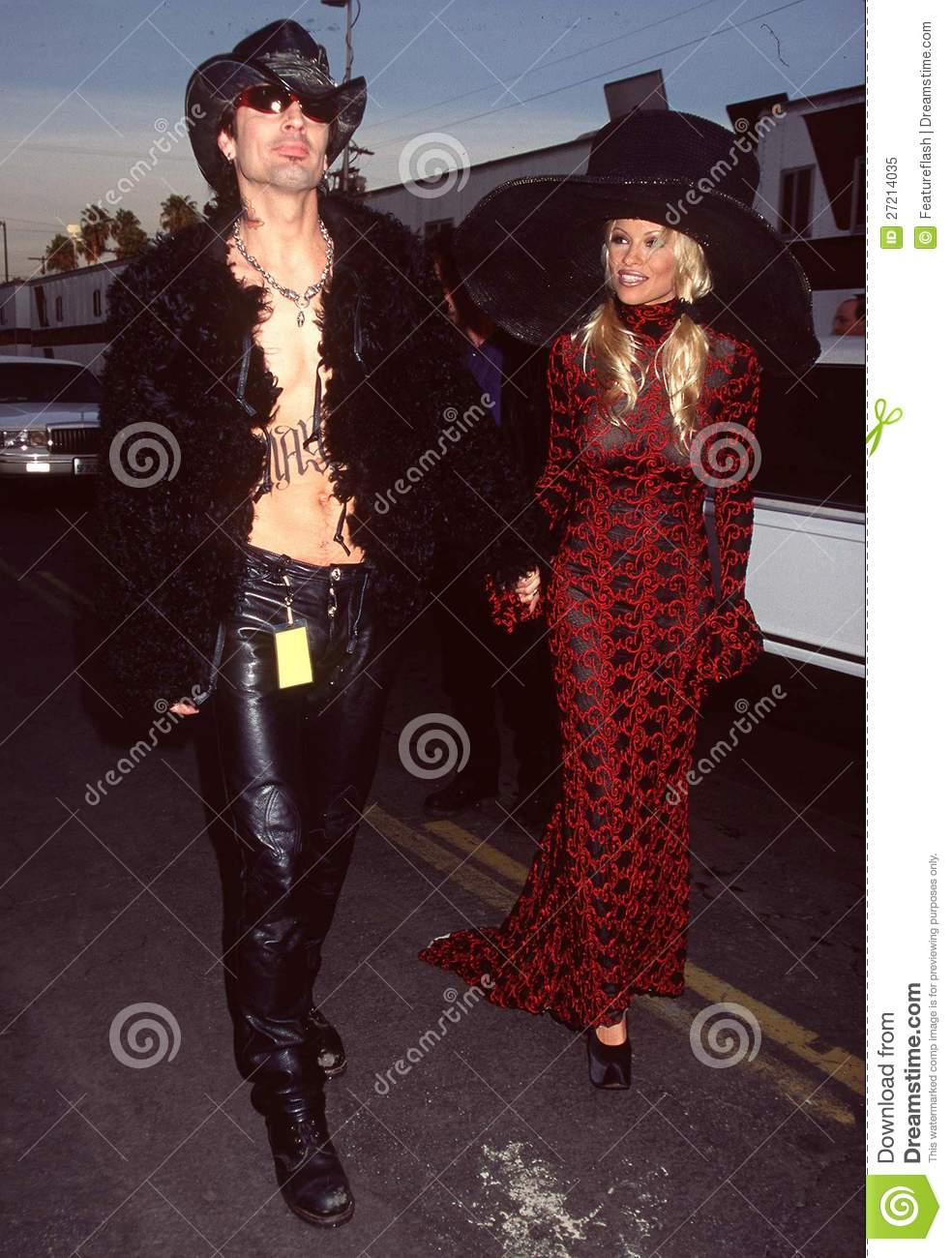 pamela lee anderson and tommy lee