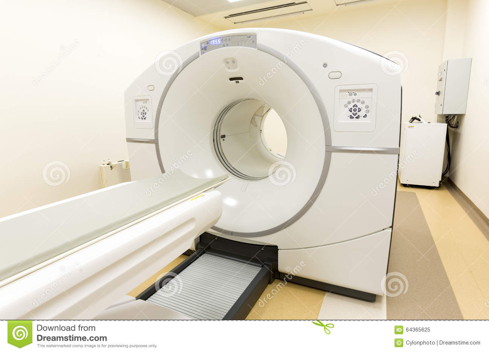 Tomografia computorizada do varredor do CT