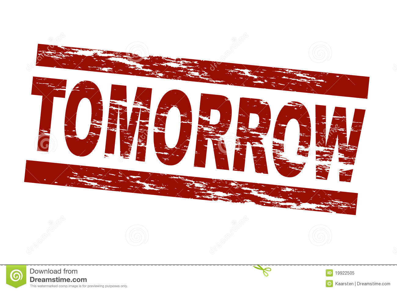 tomorrow royalty free stock photo image 19922505