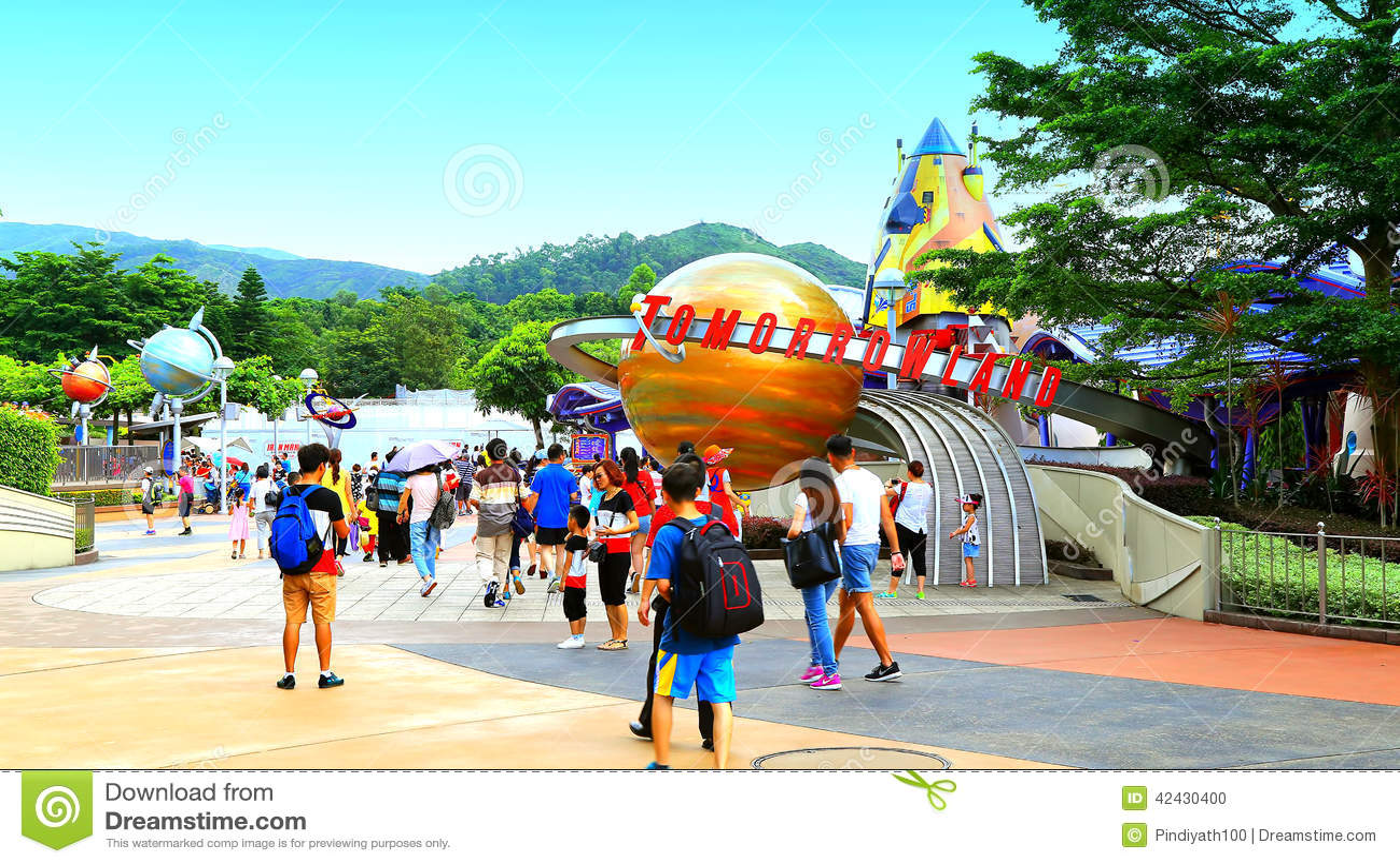 Tomorrowland σε Disneyland Χογκ Κογκ