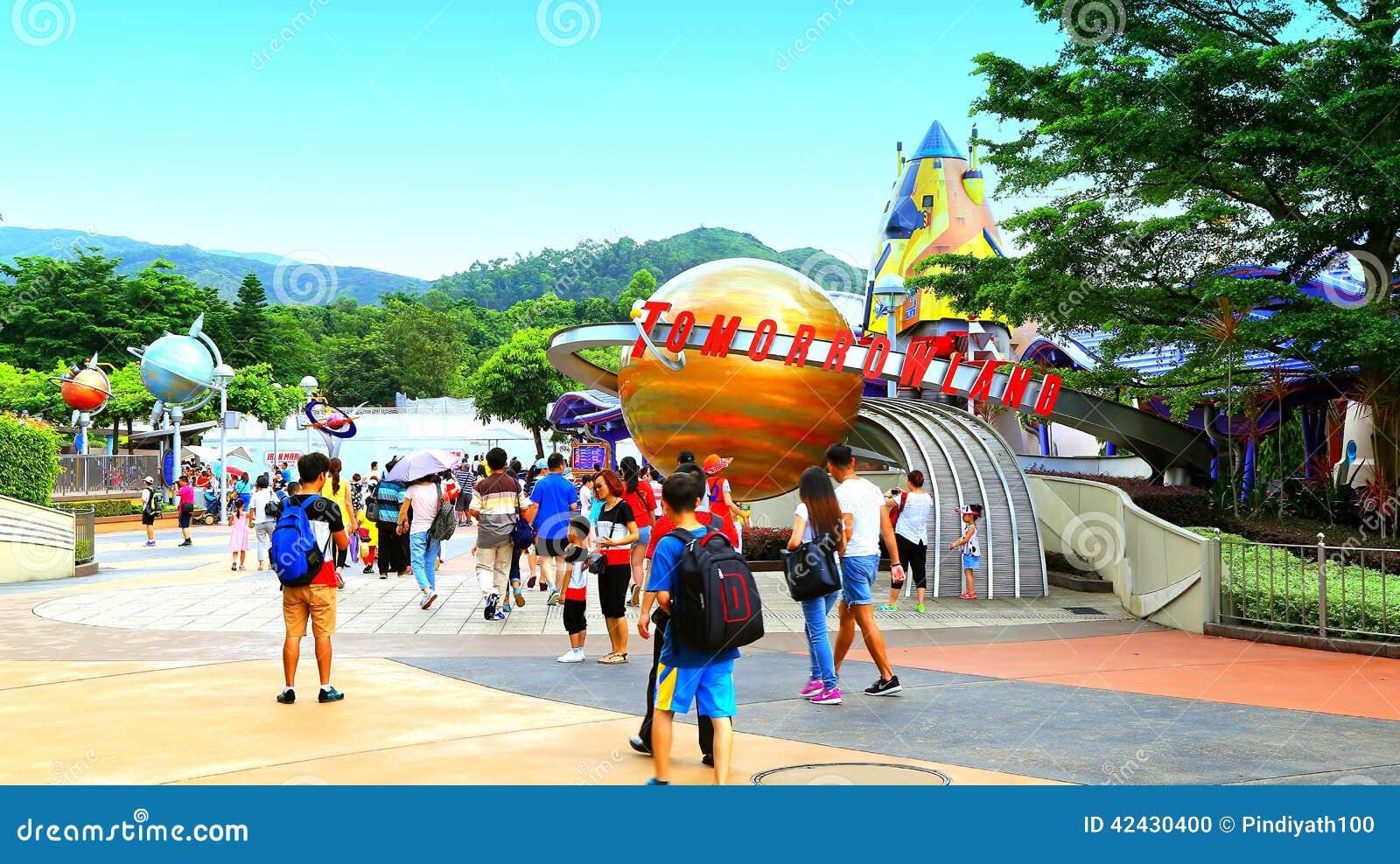 Tomorrowland на Диснейленде Гонконге