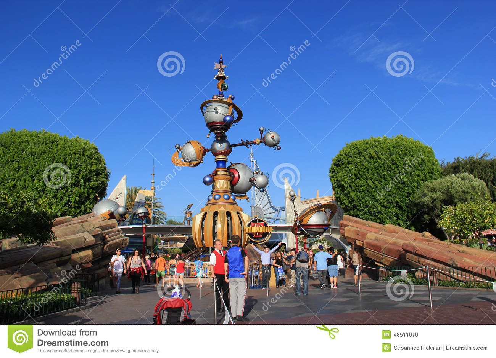 Tomorrowland på Disneyland