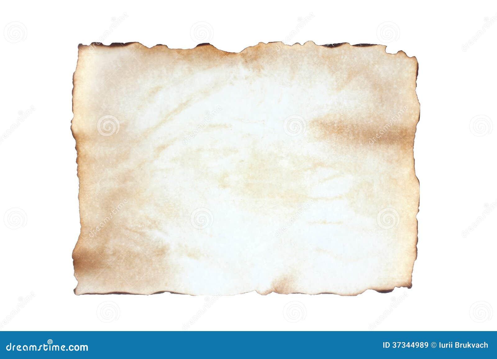 Tomt papper för gammalt ark