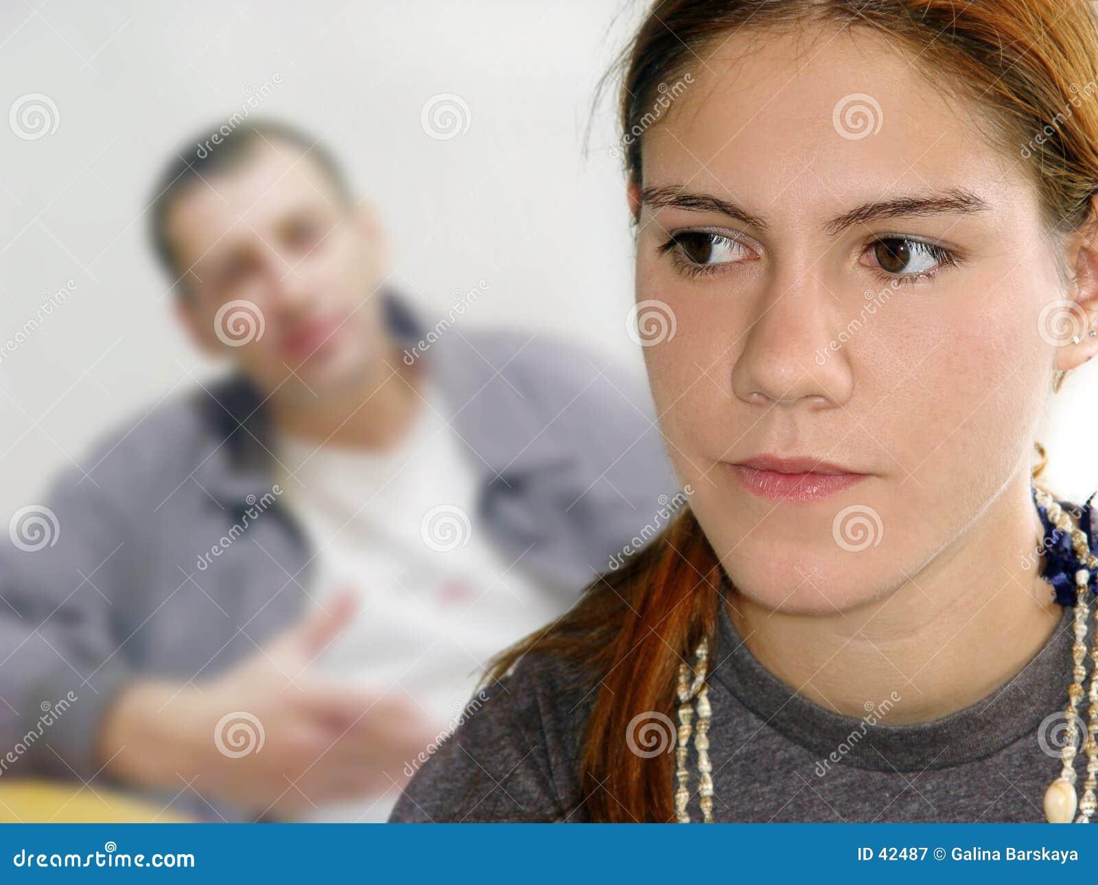 Tonåring för problem s