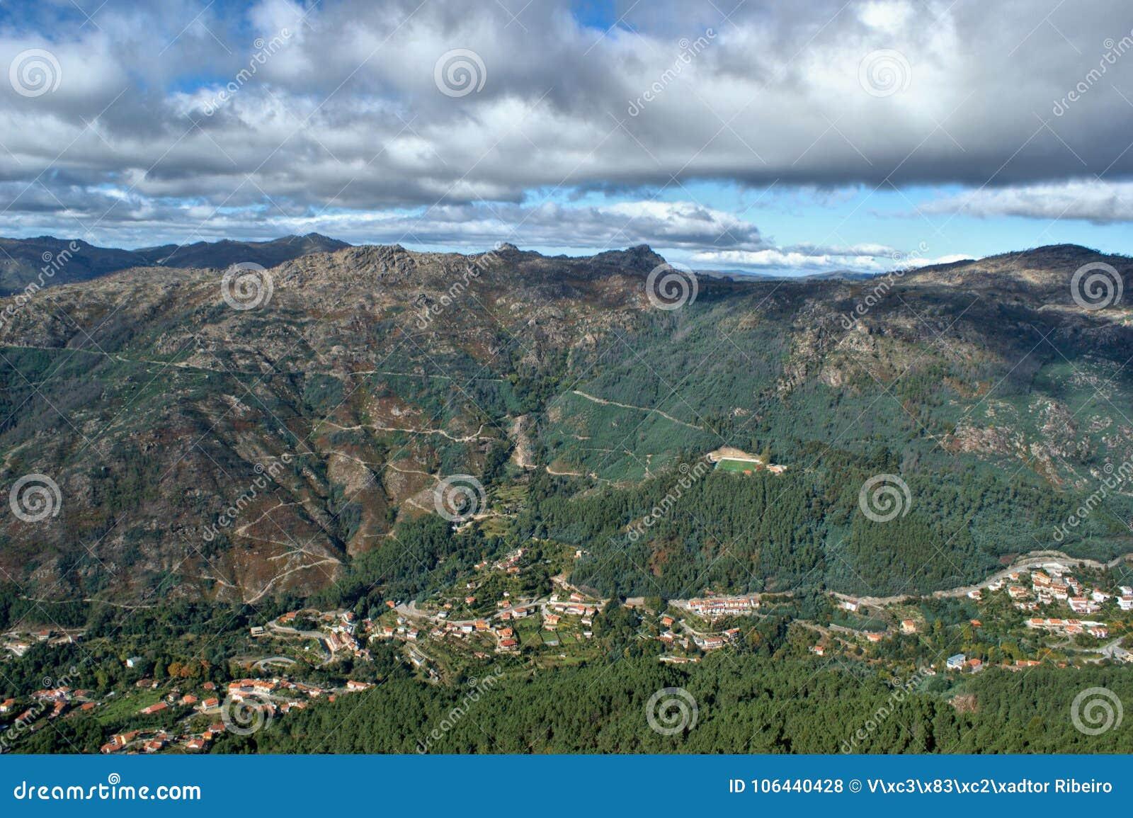Toneelmening van Nationaal Park van Peneda Geres