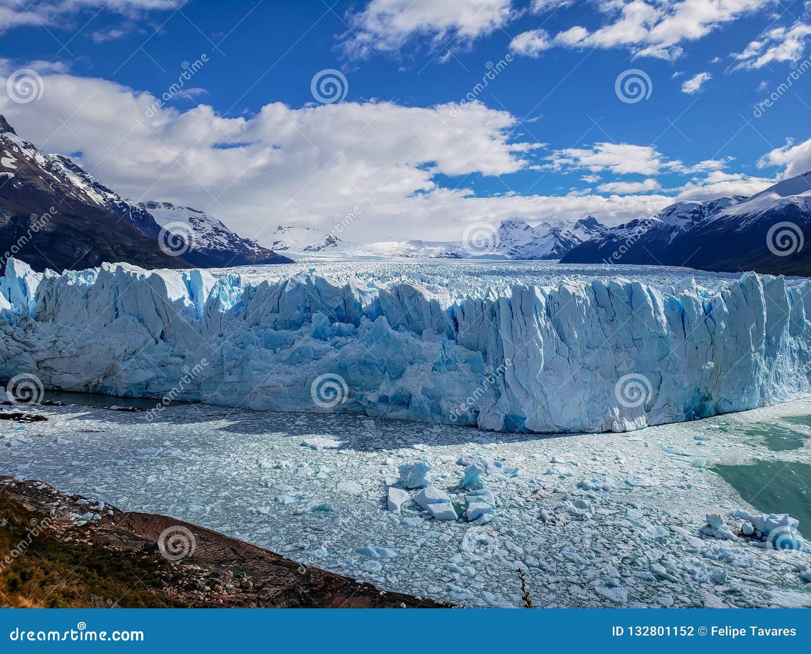 Toneelmeningen van Glaciar Perito Moreno, Gr Calafate, Argentinië