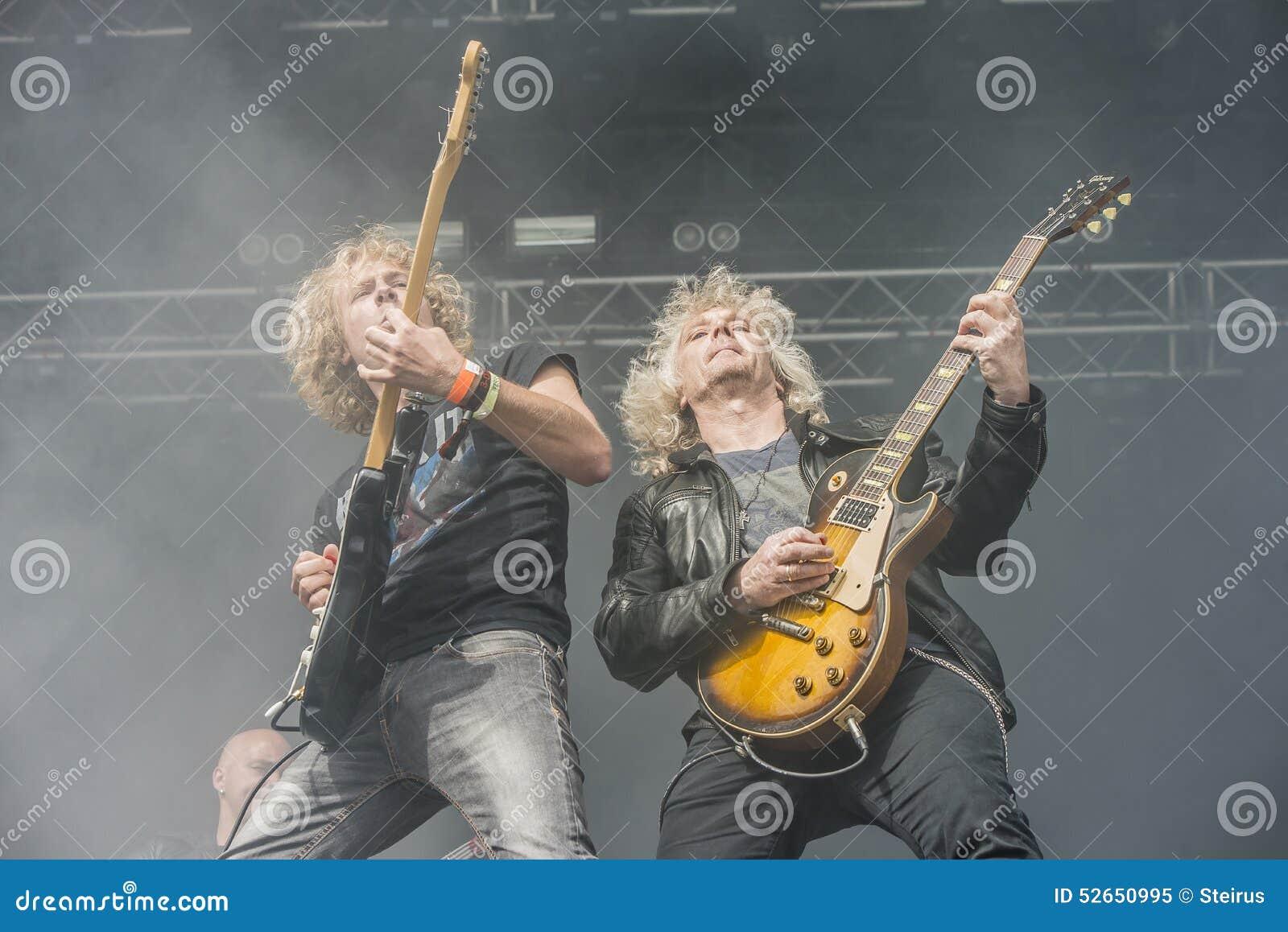 Toneladas de la roca 2014, banda de Blaze Bayley