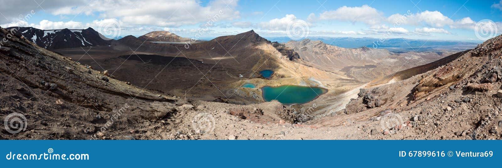 Tongariro高山横穿轨道,新西兰