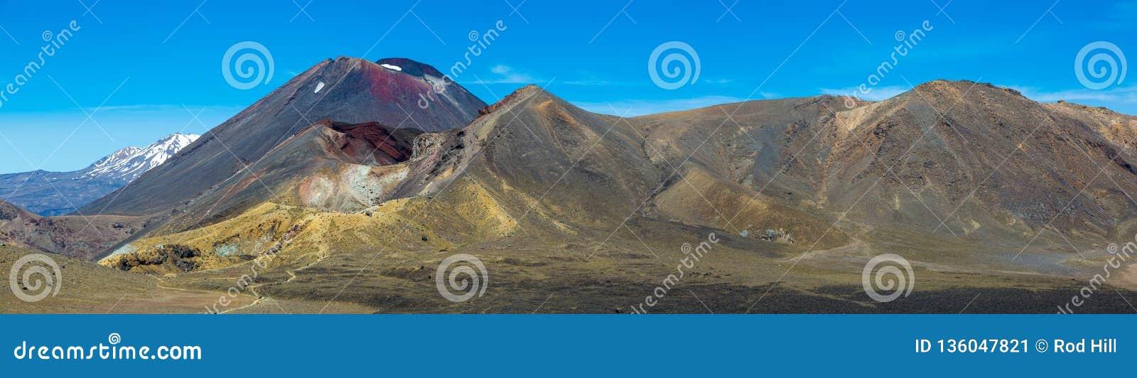 Tongariro Alpejski skrzyżowanie - Tongariro park narodowy