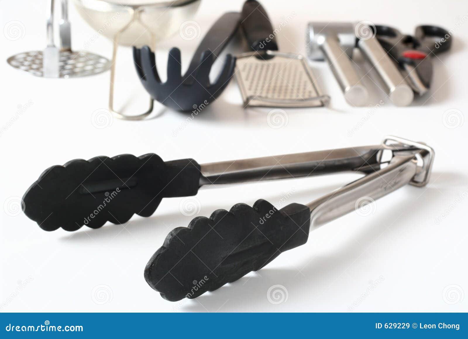 Tongs do utensílio da cozinha