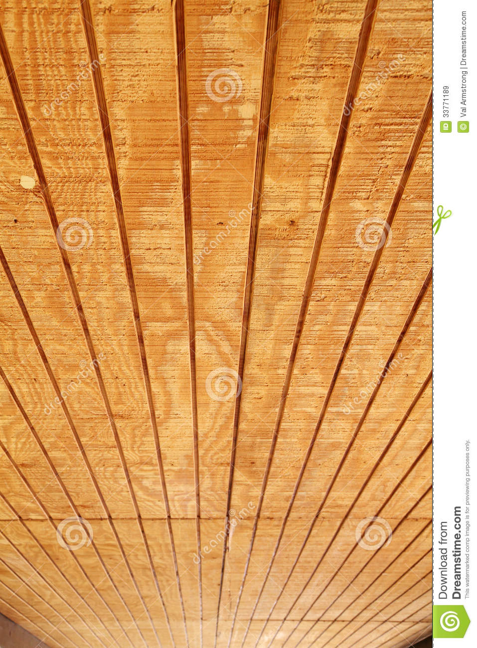 Tongue And Groove Wood Ceiling Stock Image Image Of