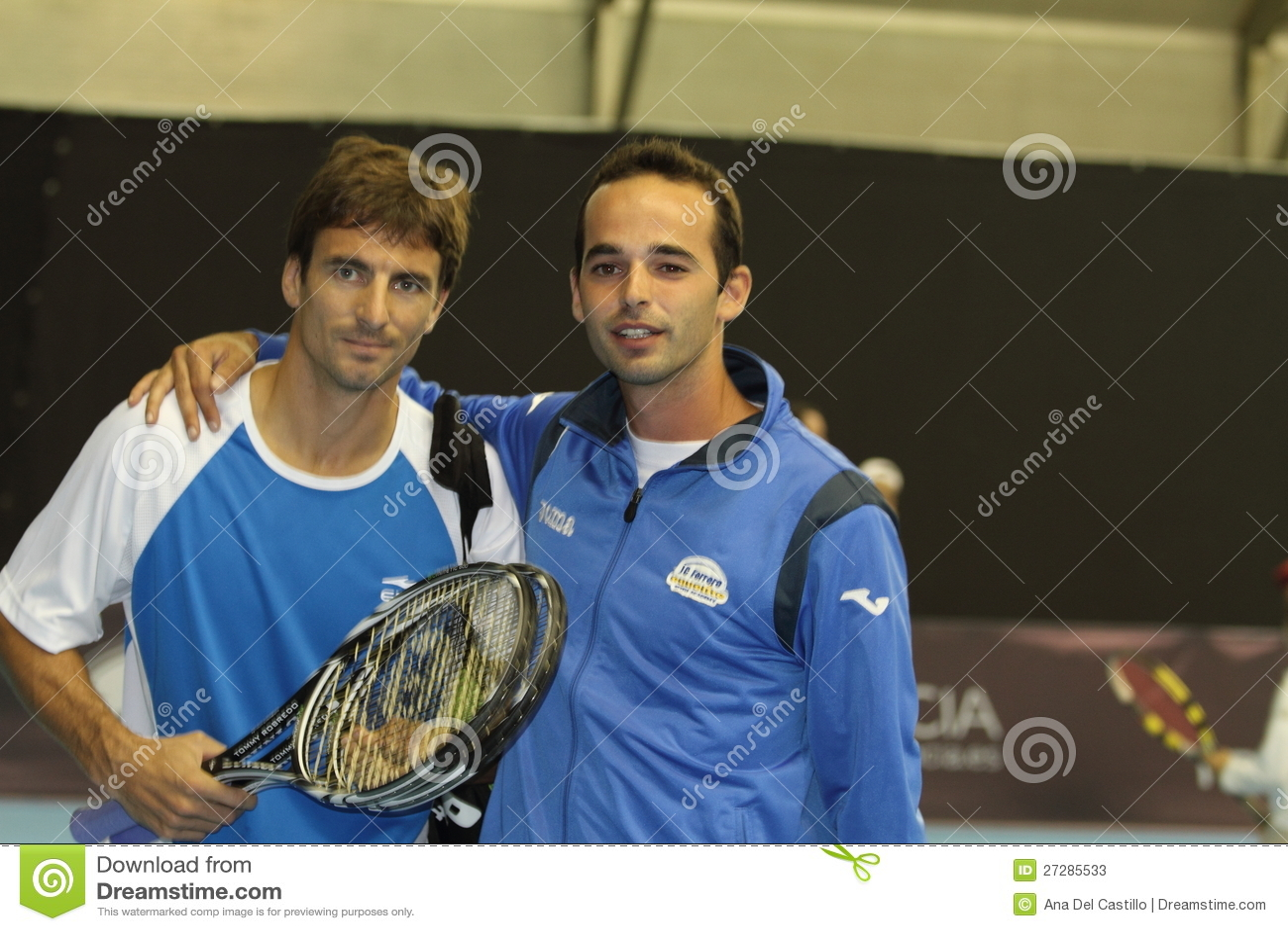 Toni Robredo av Spanien under den öppna Valenciaen