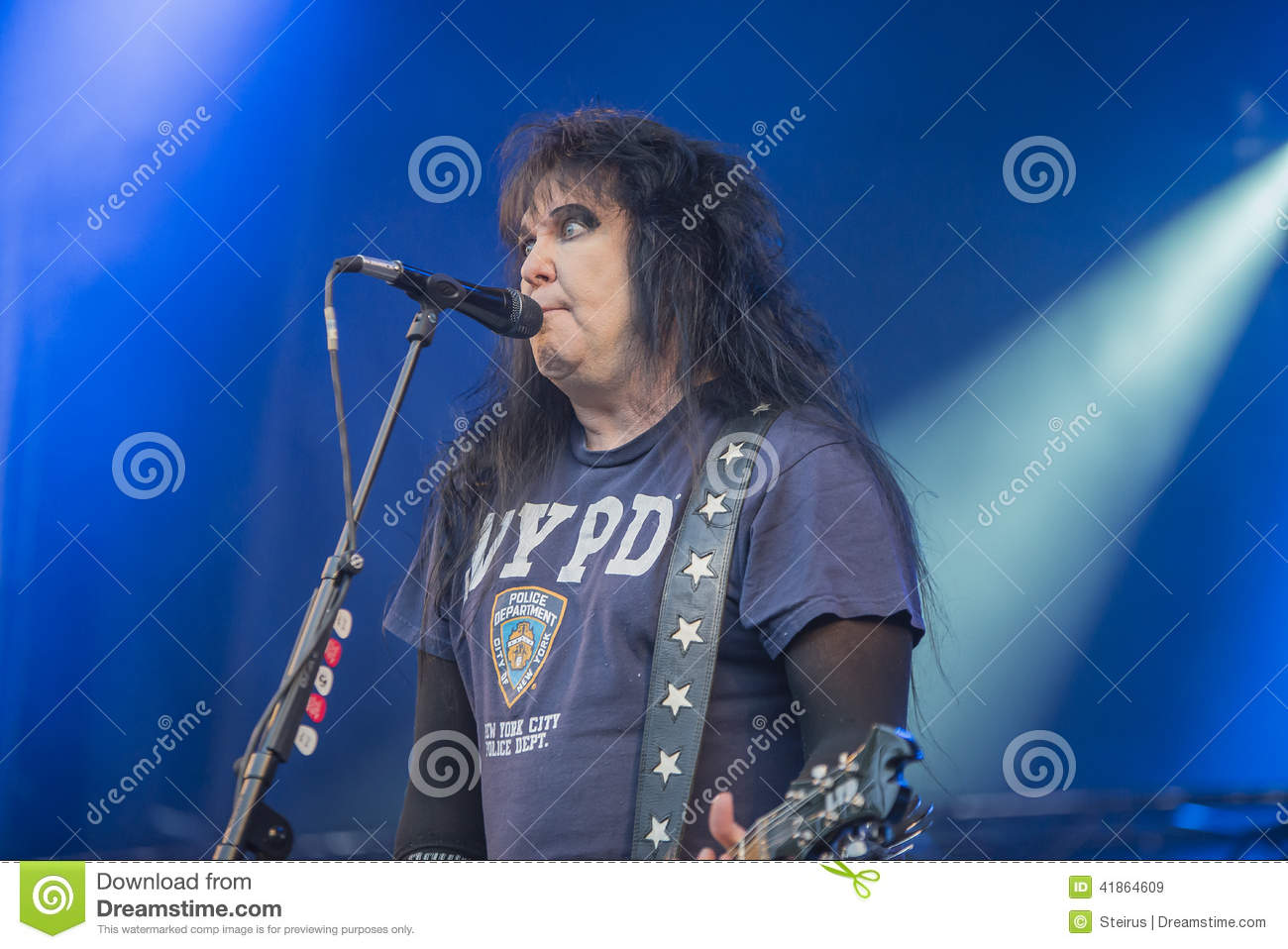 Tons Of Rock, W.A.S.P. (day 2) Editorial Stock Image ...