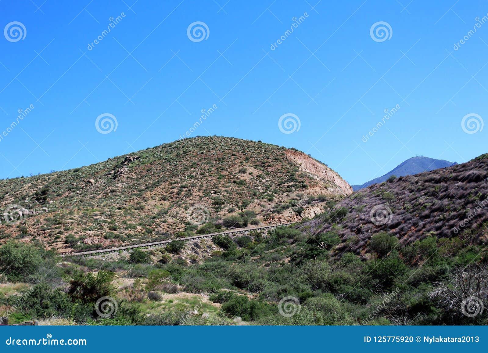 Tonto las państwowy z autostrady 87, Arizona U S Departament Rolnictwa, Stany Zjednoczone