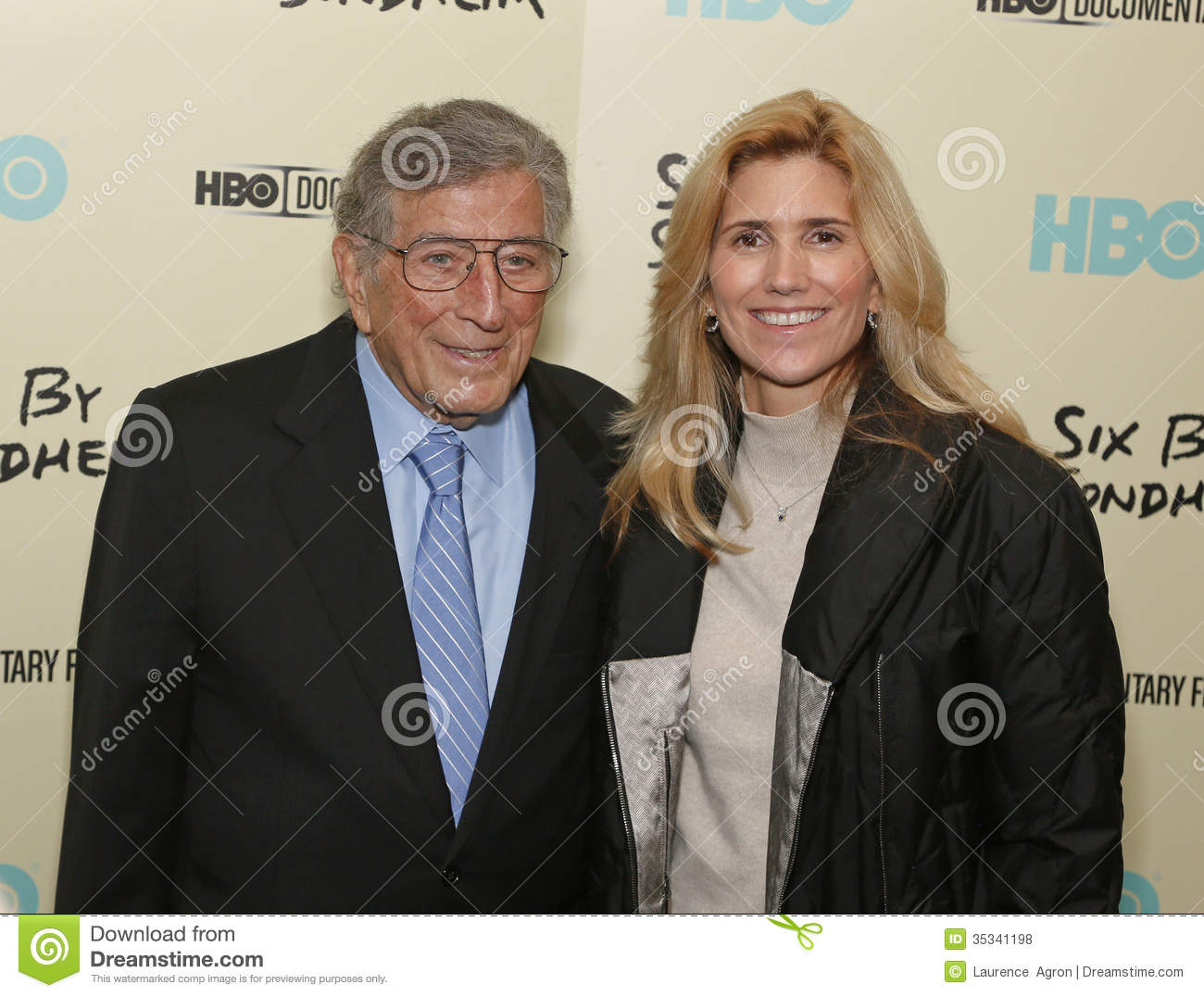 Tony Bennett And Susan Crow Editorial Stock Photo - Image of