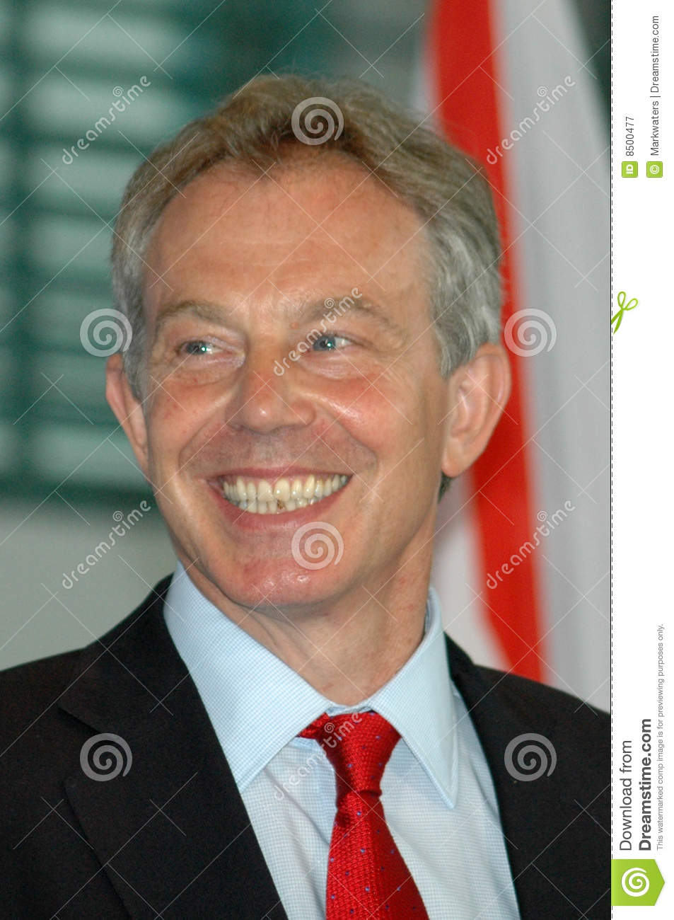 Tony Blair Editorial Photography Image 8500477
