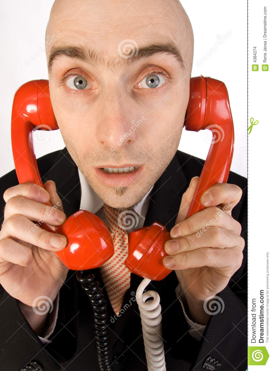 Too Many Phone Calls Stock Images