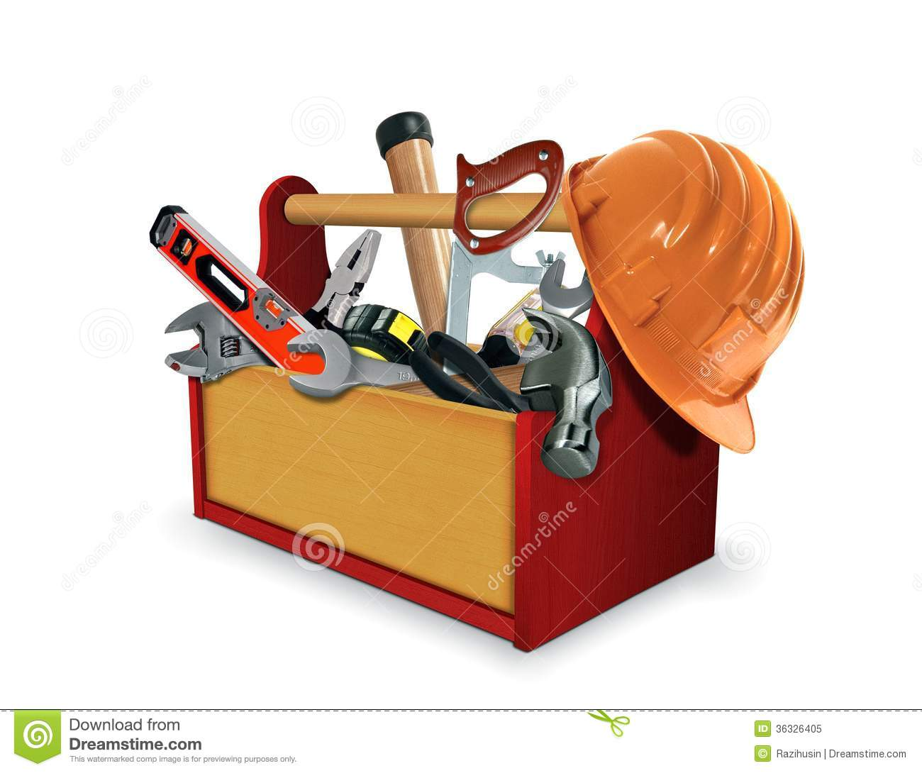 Tool Box With Tools Royalty Free Stock Photo Image 36326405
